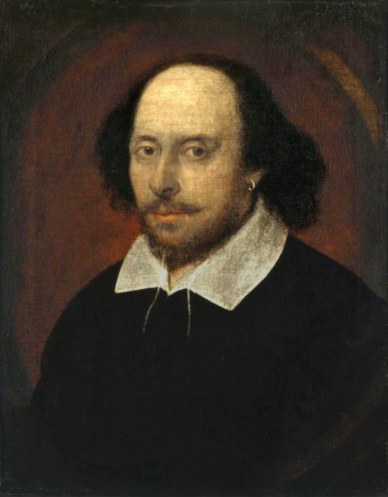 Did Shakespeare know he'd be 'Abridged'? (Painting: possibly by John Taylor, 1610, now in the National Portrait Gallery, London)
