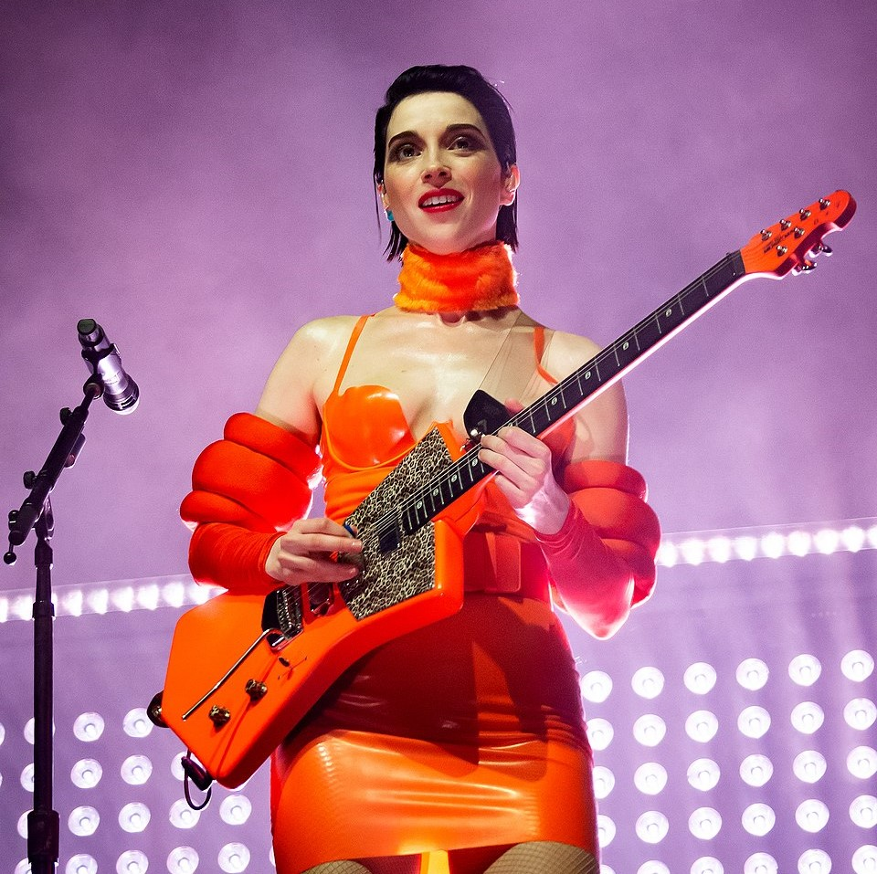 St. Vincent performing at The Hollywood Palladium in 2018. (photo: Justin Higuchi)