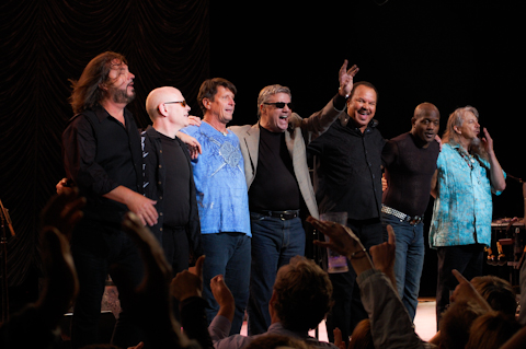 Steve Miller Band at the Ravinia Festival, 7/17/2009. photo: Soundslikewill
