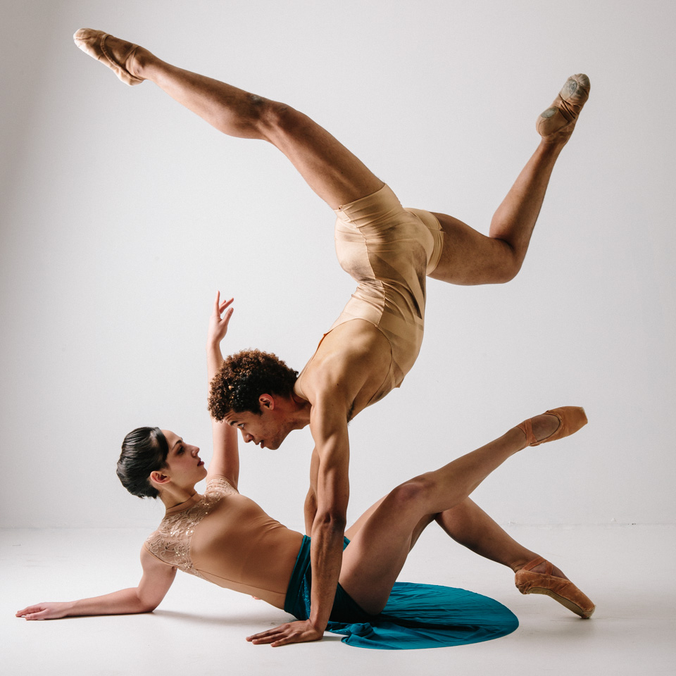 """Alan Obuzor goes heels-over-head for Alexandra Tiso in """"Strength & Grace."""""""