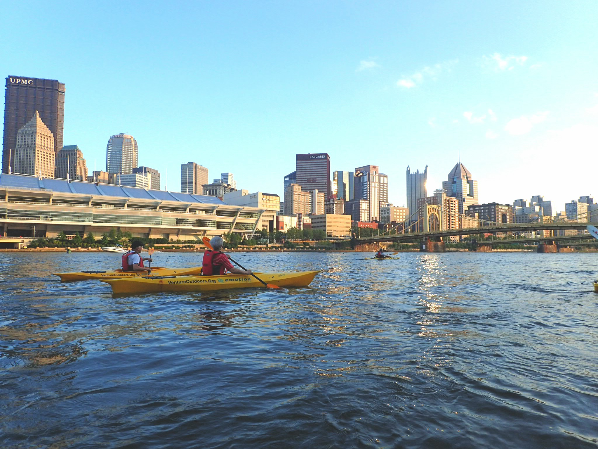 Summer in Pittsburgh offers plenty of flow with which to go.