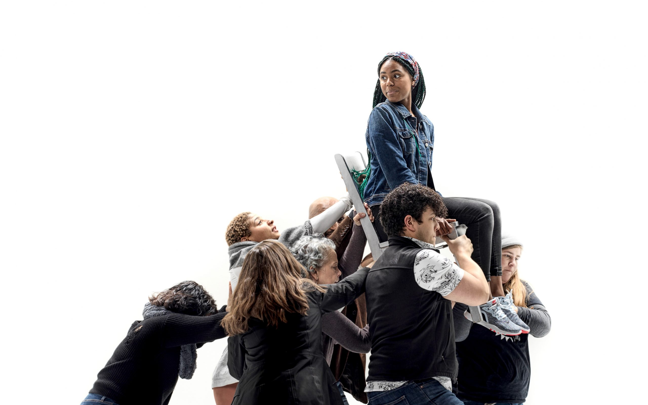 'The Tipping Point' dramatizes the precarious lives of refugees worldwide. (photo: Corningworks / Frank Walsh)