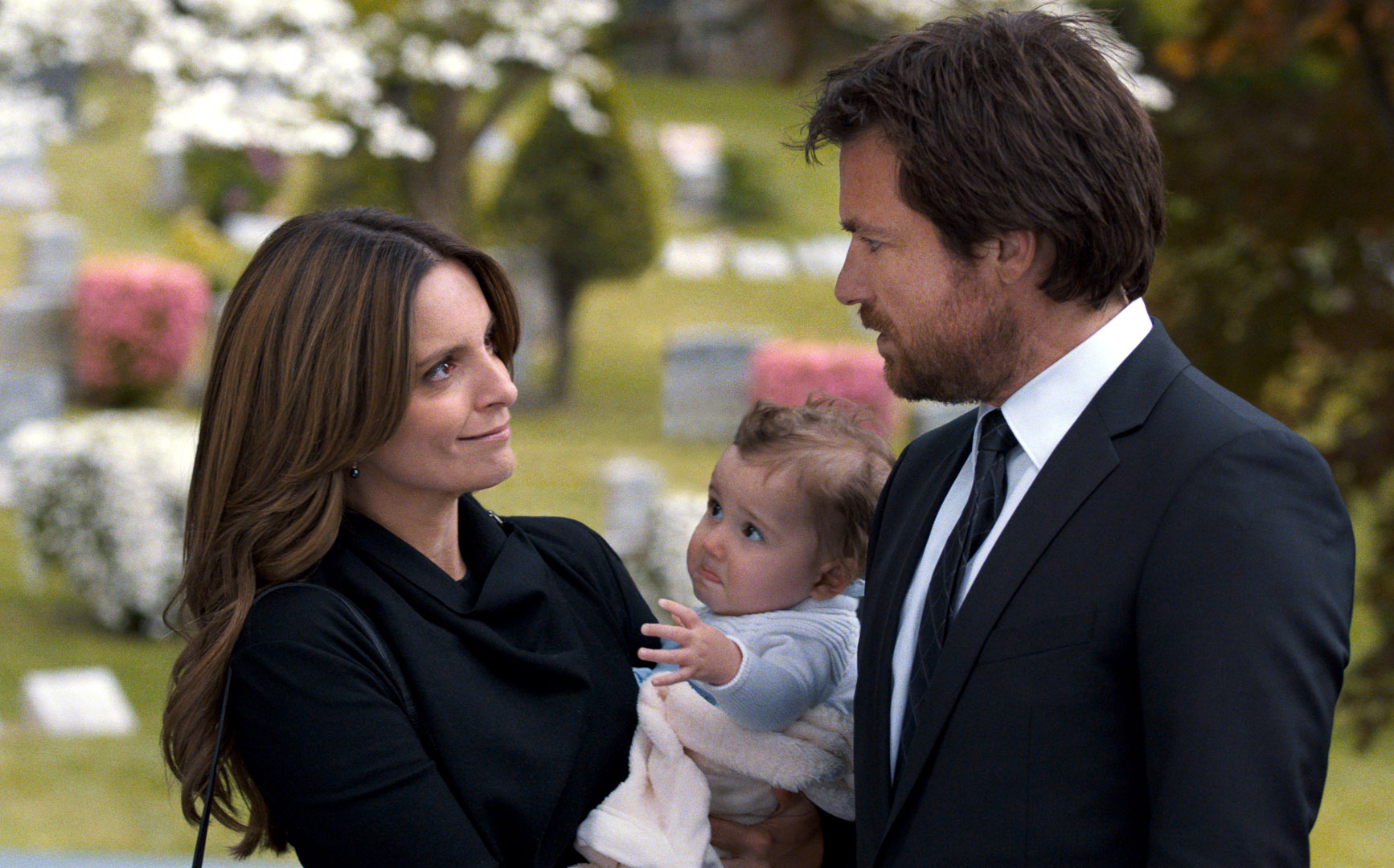 Oh, baby! Tina Fey and Jason Bateman are brilliant in the roles of Wendy and her brother Judd, but as the little one senses, there's something about the film that makes you want to scream.