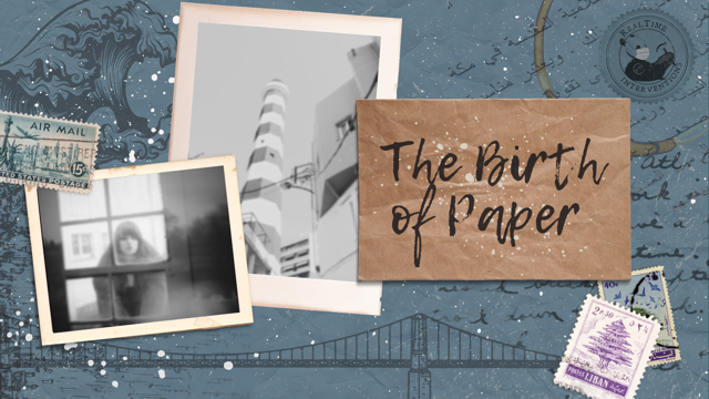 RealTime Interventions 'The Birth of Paper' Now Open for Post Theatrical Festival