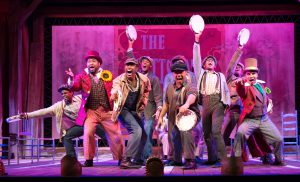 The musical is almost too good to be true. The story behind it is unfortunately true. The cast does justice to both.