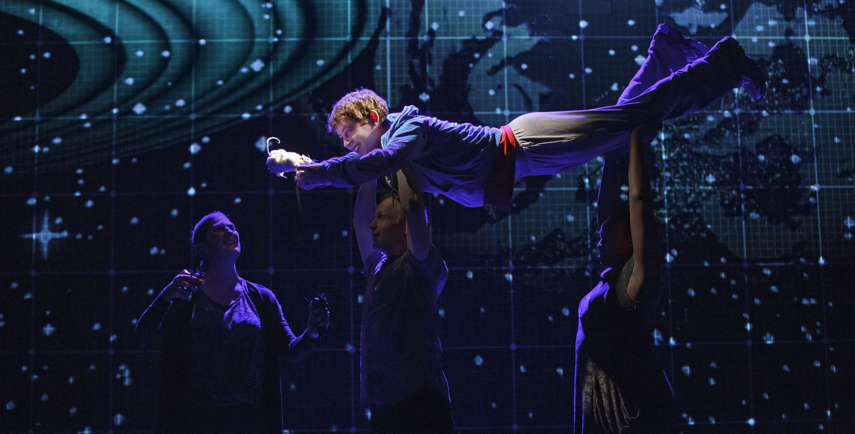 "As Christopher demonstrates, there's more than one curious incident in ""The Curious Incident of the Dog in the Night-Time."""