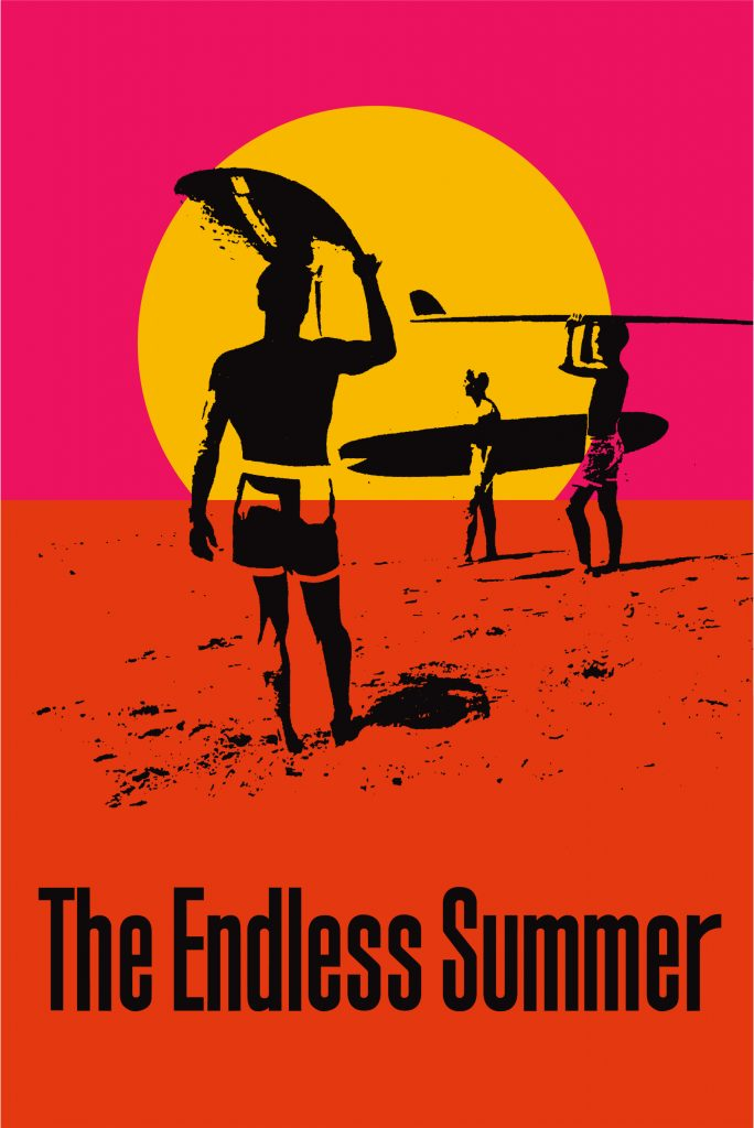 John Van Hamersveld (b.1941), The Endless Summer 50th Anniversary Poster, 2014 Collection of the Artist ©John Van Hamersveld.