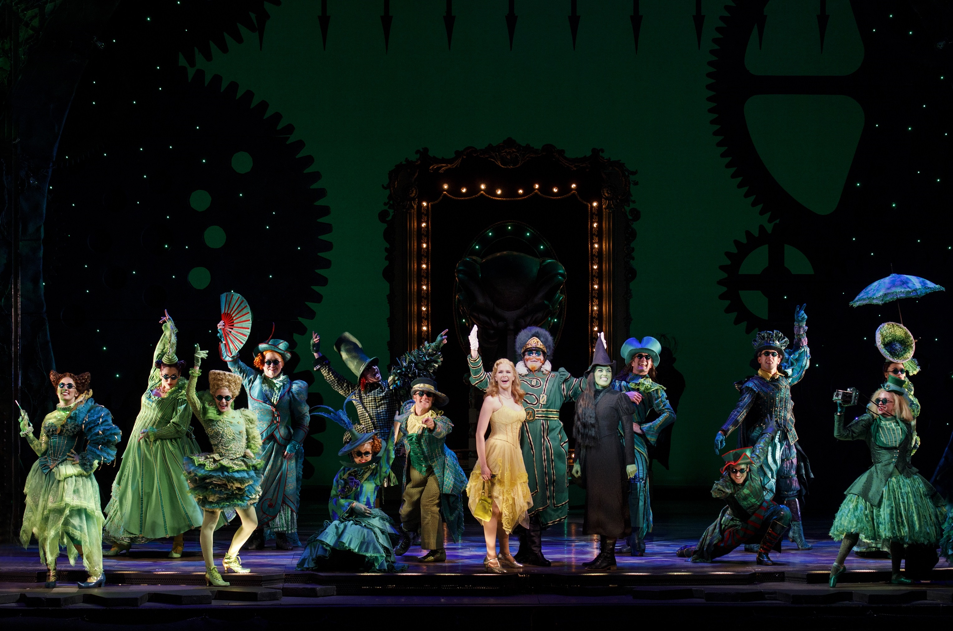 The national touring company of 'Wicked.' Photo: Joan Marcus.