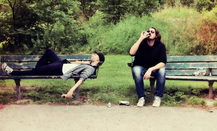 The Radio Dept. chilling out and thinking about new songs.