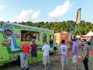 Food trucks were on hand to provide a fun, quality food experience.