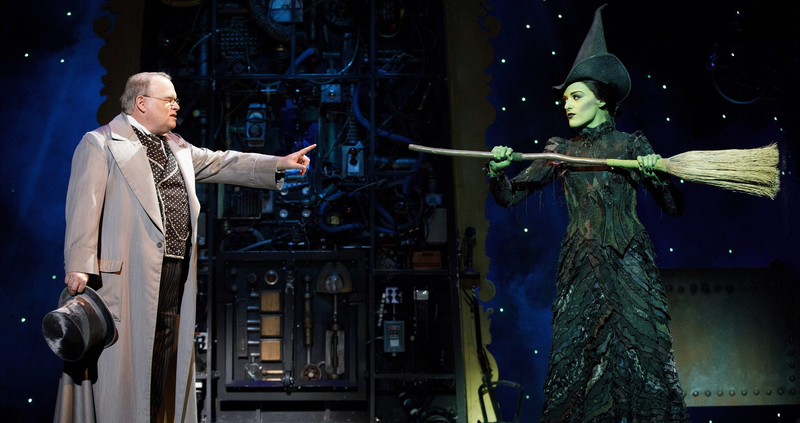 She's here to sweep away our winter blues and she means business. Mary Kate Morrissey plays the not-so-wicked witch Elphaba in the touring production of 'Wicked,' one of many musicals on Pittsburgh stages this month.