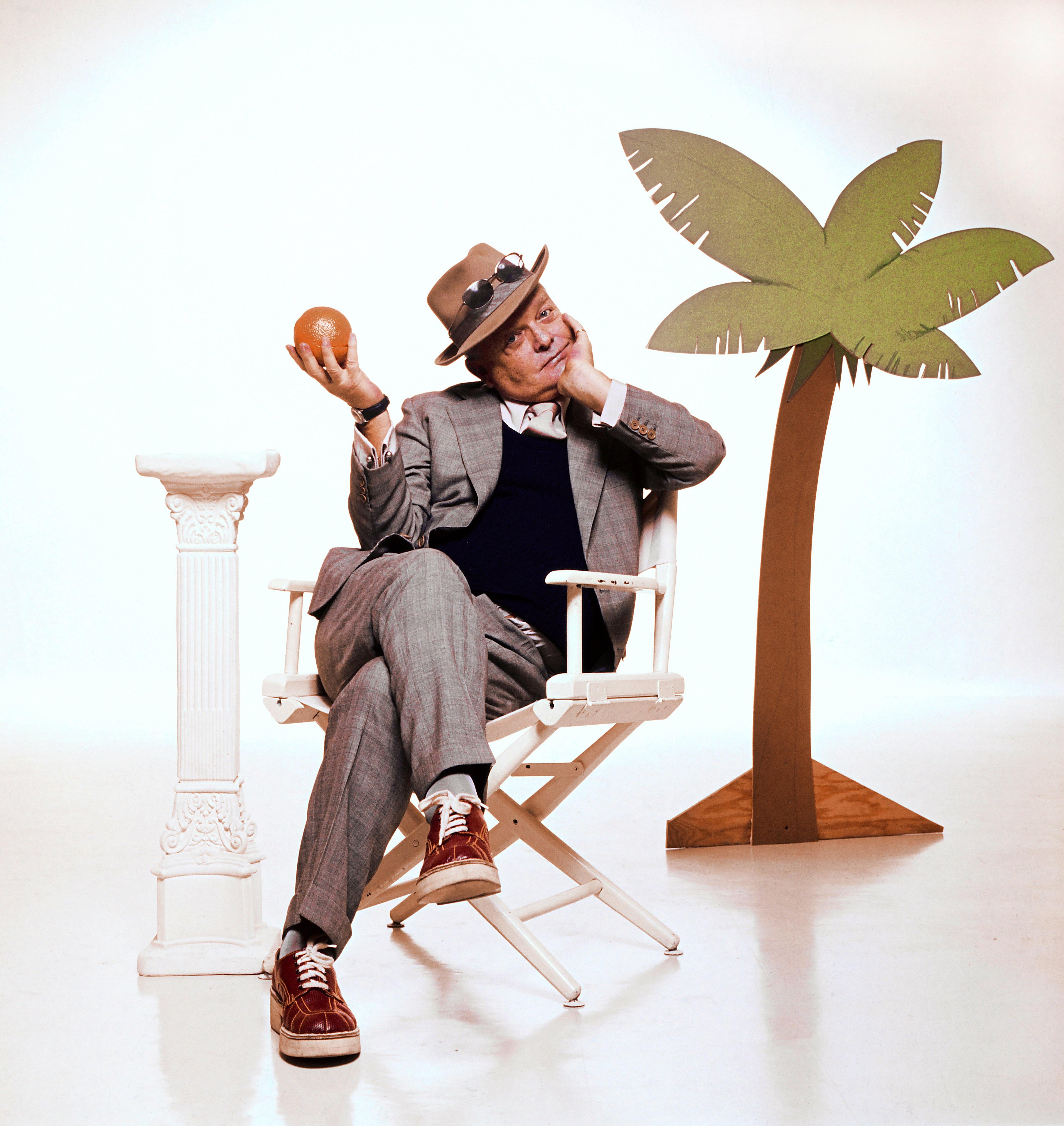 Jay Presson Allen as Truman Capote. photo: Pittsburgh Public Theater.
