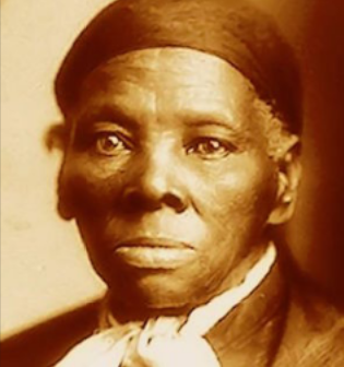 Harriet Tubman meant business. This photo is undated; the new play 'Tubman' imagines her in the present.