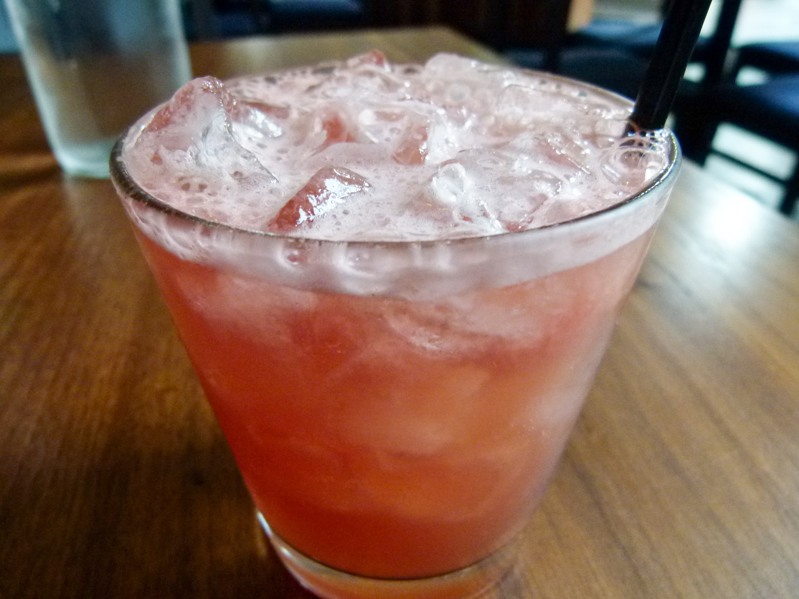 Watermelon rum punch.