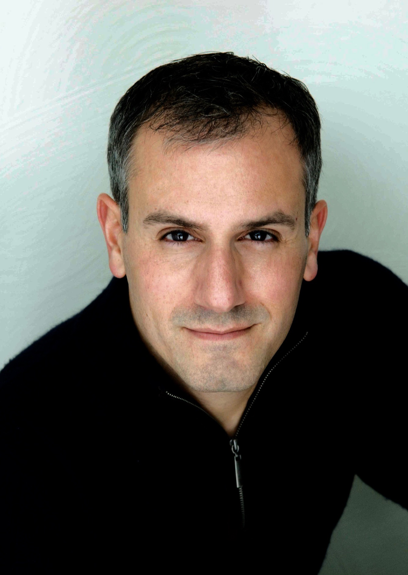 Ricardo Vila-Roger plays Lorin, a man stuck low down in the office hierarchy, in Hatch's 'Gloria.'