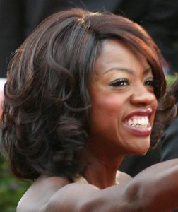Viola Davis at 2009 Academy Awards ceremony. photo: Chrisa Hickey and Wikipedia.