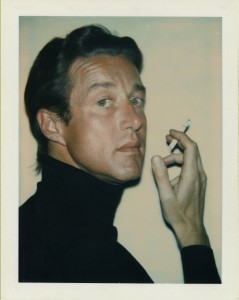 "Polaroid ""instant"" cameras were used mainly for getting on-the-spot snapshots, but Warhol also used them to make portraits, including this one of the designer Halston in 1974. (Image © Andy Warhol Foundation)"
