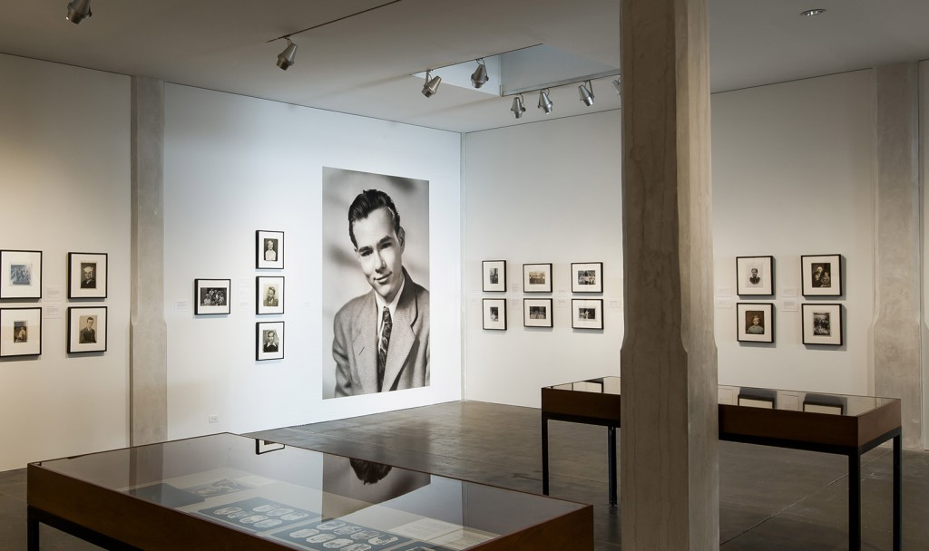 The new 7th floor galleries trace Warhol's upbringing and early career. His 1945 senior photo from Pittsburgh's Schenley High School dominates this corner. (Gallery image from a series © Abby Warhola)
