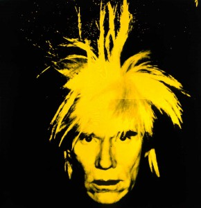 Warhol's 1986 self-portrait combined rock-star flash with dark foreboding—notice the weary look. Andy died the next year, having produced an immense body of work. Much of it would go into the Warhol Museum. (Image © Andy Warhol Foundation)
