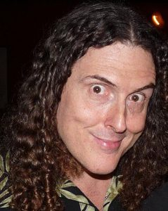 'Weird Al' Yankovic looking, weird. photo: Antmantrunks,Wikipedia.