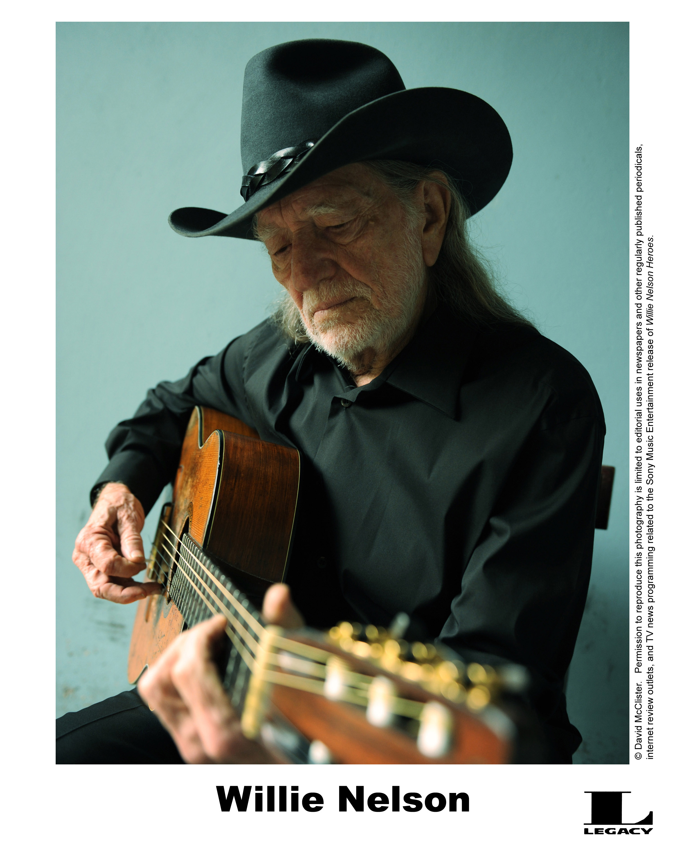 Outlaw country troubadour, Willie Nelson
