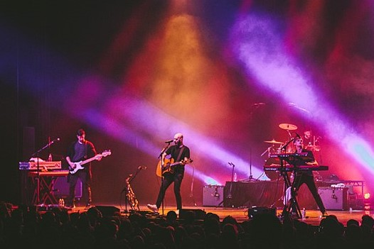 X Ambassadors. Photo: Abby Gillardi and Wikipedia.