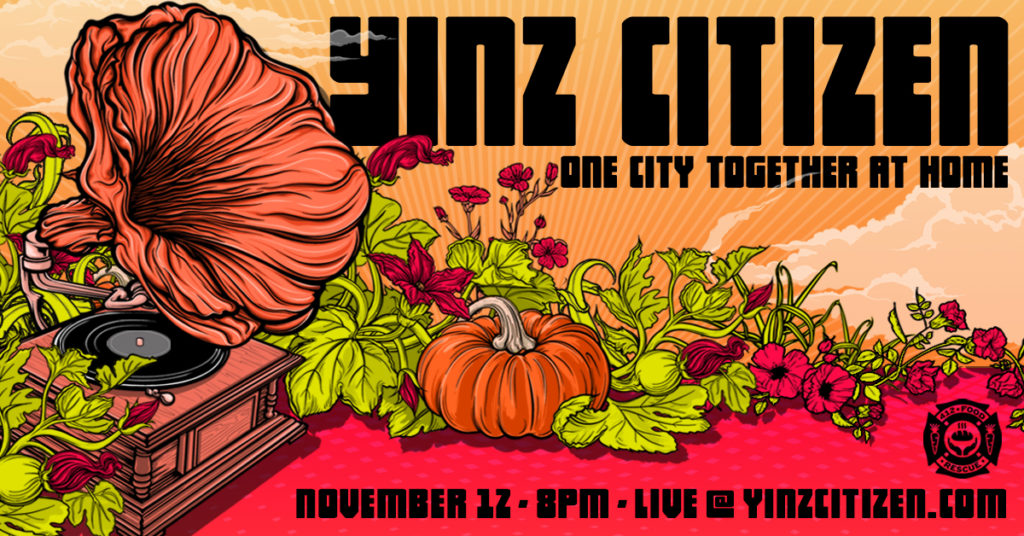 Yinz Citizen Virtual Fundraising Concert for 412 Food Rescue
