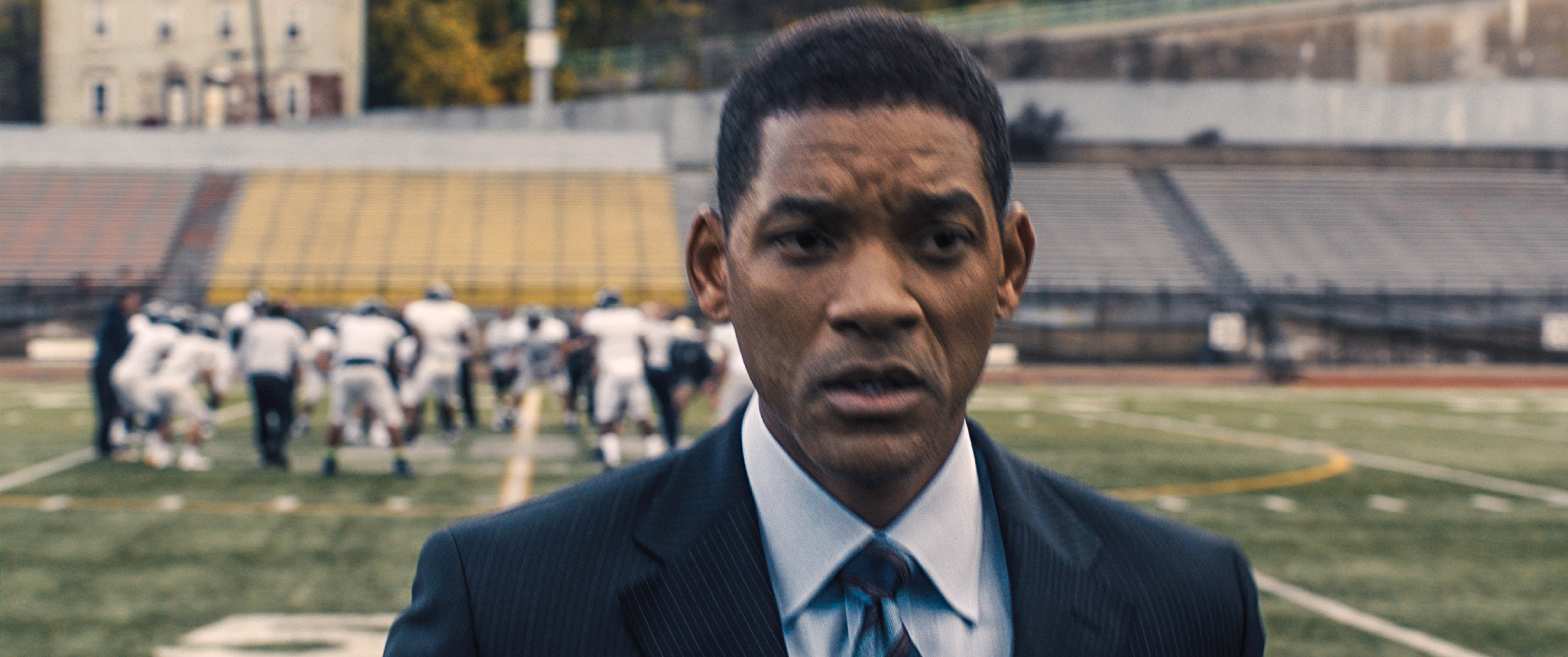 "Will Smith stars as a Pittsburgh forensic pathologist in ""Concussion."" Photo: Columbia Pictures."