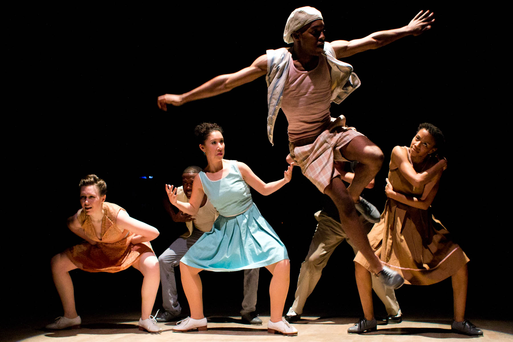 Dorrance Dance brings extreme tap to the Byham Theater stage.