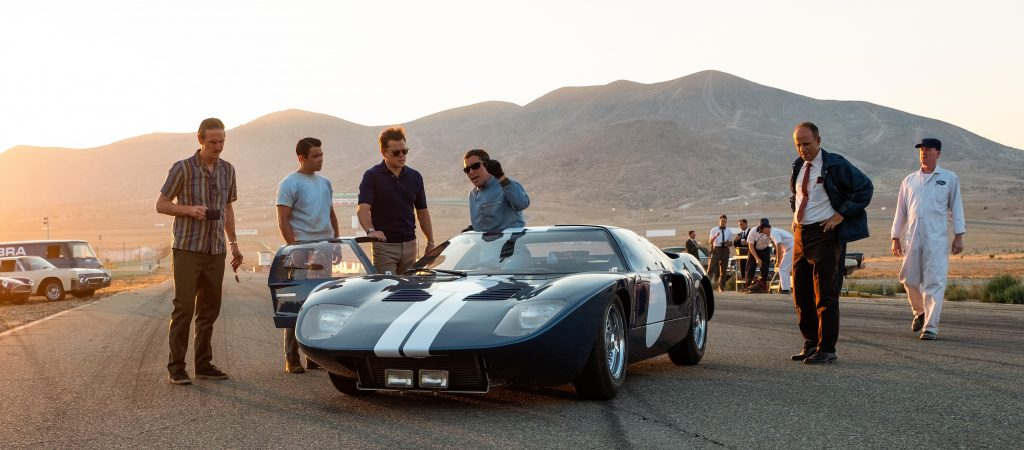 Shelby American and Ford engineers get feedback on the latest test run from Miles.