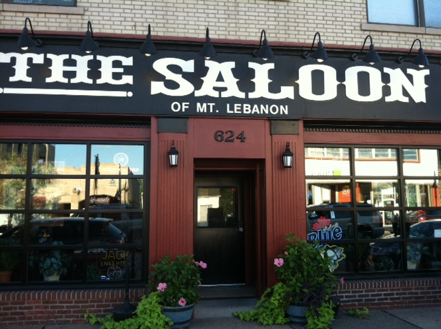 Exterior Shot of Mt. Lebanon's Saloon