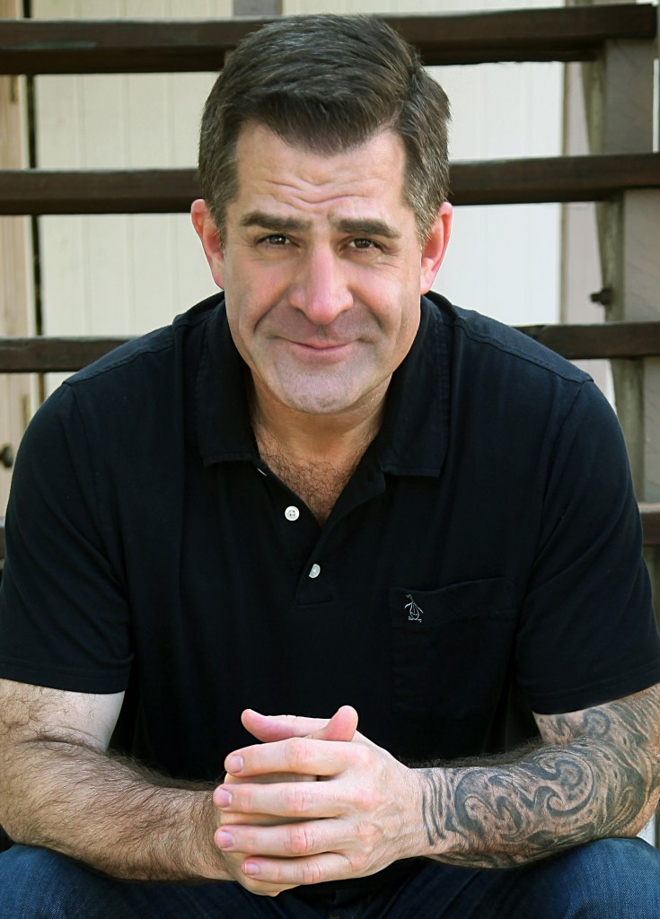 Comic Todd Glass, host of The Todd Glass Show podcast, is one of this year's festival headliners.