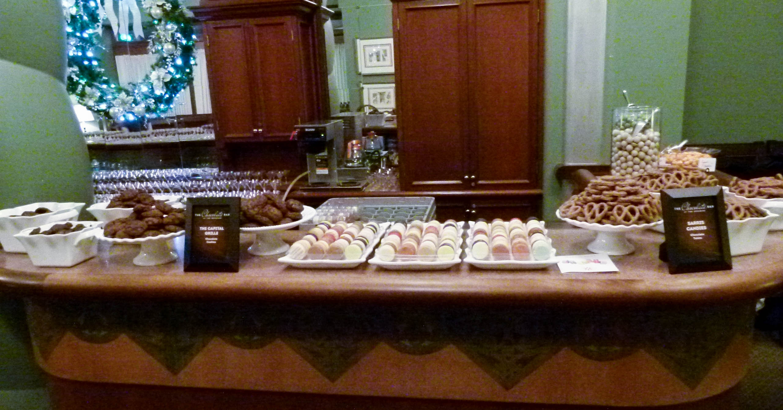 Other treats on the rest of the Circles Lounge bar.